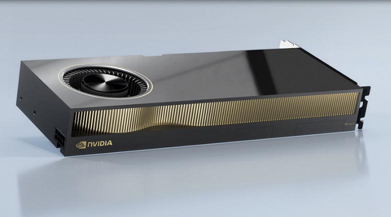 Новые мощные видеокарты Nvidia, которые вряд ли заинтересуют майнеров. RTX A5000 и A4000 прописались в базе KhronosGroup