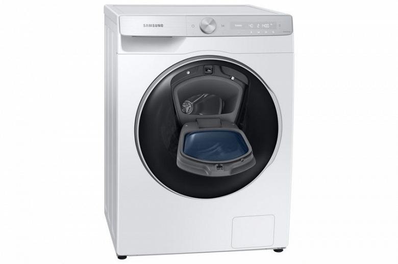 Samsung начала продажу умных стиральных и сушильных машин в России