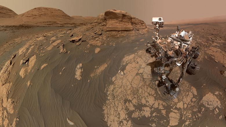 Ровер Curiosity прислал впечатляющее селфи с Марса