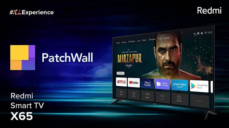 Представлены доступные телевизоры Redmi с 4K, Dolby Vision и Android TV 10