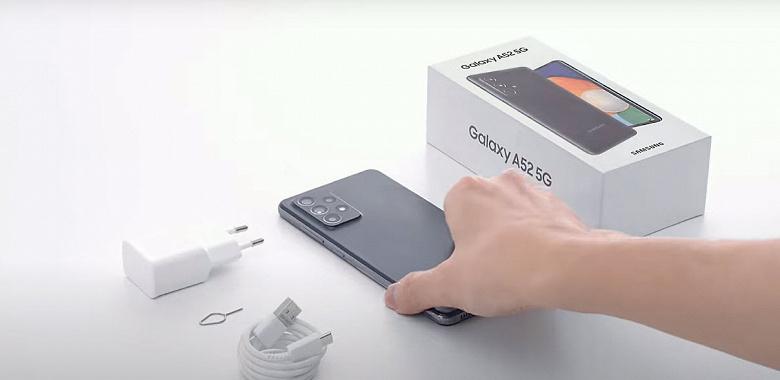 Официальные распаковки водонепроницаемых Samsung Galaxy A52 и Galaxy A72
