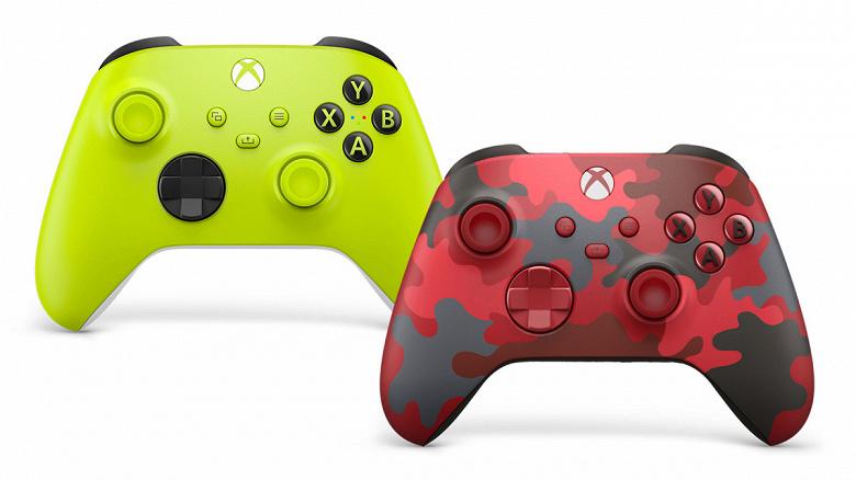 Microsoft представила новые геймпады Xbox для любителей выделяться из толпы