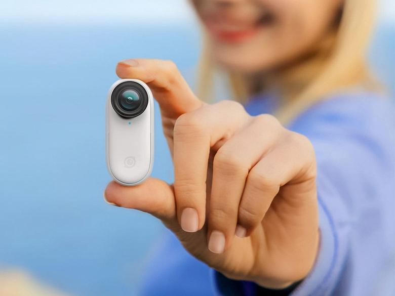 Сверхкомпактная экшн-камера Insta360 GO 2 весит 26,5 г