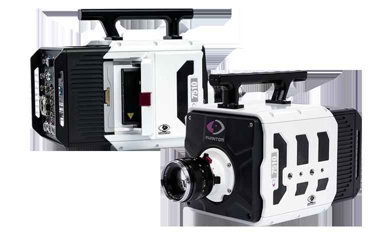 Камера Phantom TMX 7510 снимает со скоростью 1,75 млн кадров в секунду