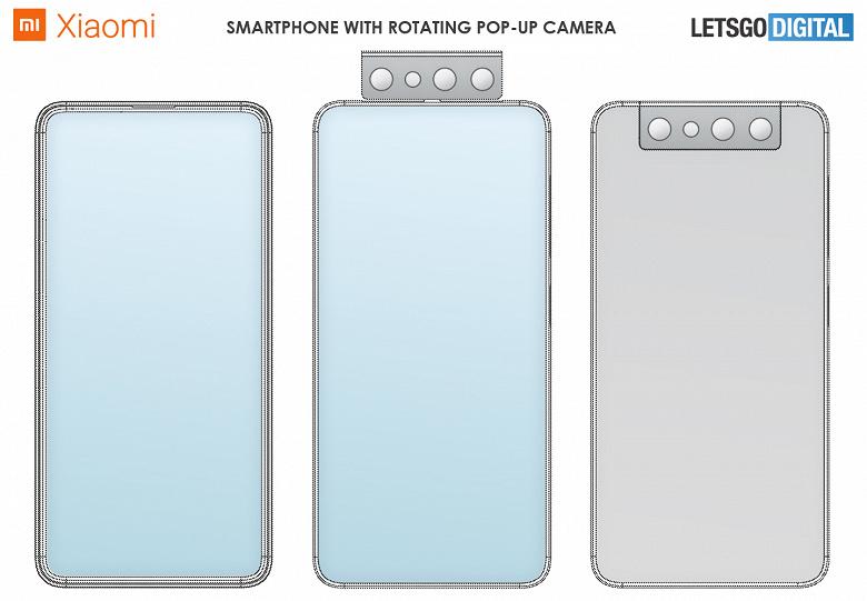 Смартфон Xiaomi с вращающейся выдвижной камерой показали на качественных изображениях