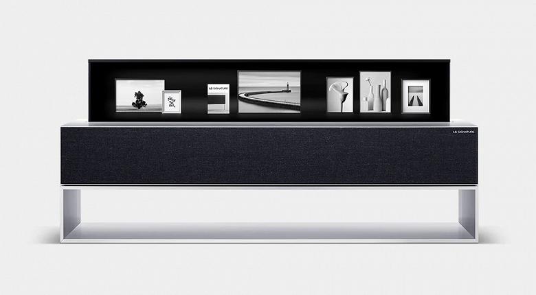 Уникальный сворачивающийся телевизор LG Signature OLED TV R готов к старту в России