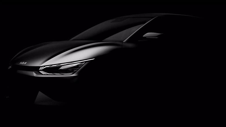 Kia EV6 — первый электромобиль на платформе E-GMP