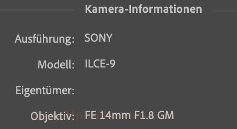 Sony приписывают намерение выпустить объектив 14mm f/1.8 GM