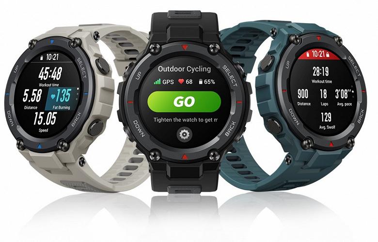 Неубиваемые умные часы Amazfit T-Rex Pro поступают в продажу