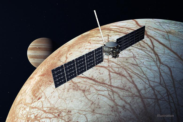 Там может быть обнаружена первая внеземная жизнь. Миссия EuropaClipper к спутнику Юпитера прошла важный этап критического обзора проекта