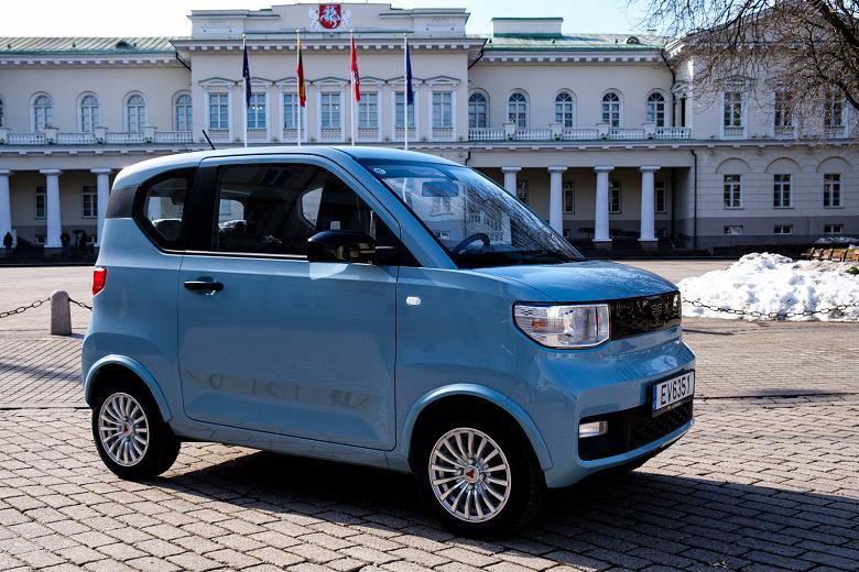 В Европе вышел самый дешёвый электромобиль