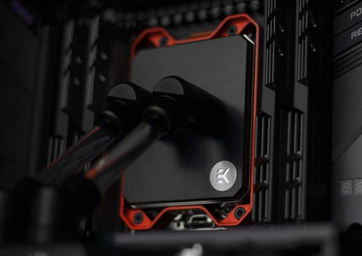 Водоблок EK Quantum Magnitude sTRX4 предназначен для процессоров AMD Ryzen Threadripper