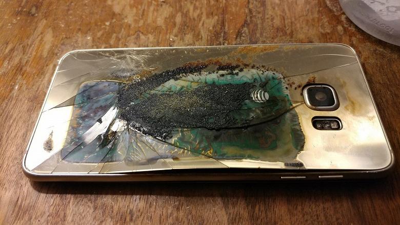 Samsung отказалась комментировать взрыв своего смартфона