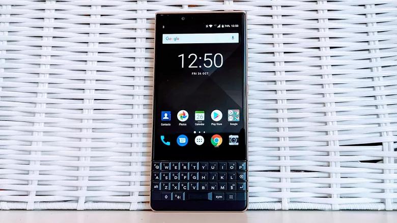 Смартфоны BlackBerry живы: в первом BlackBerry 5G ожидается флагманская камера
