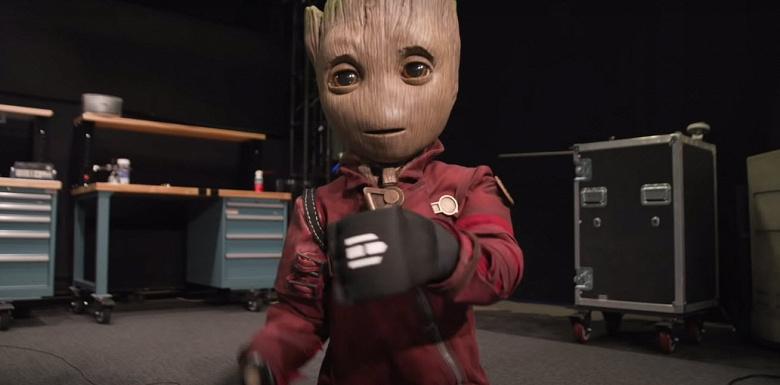 Роботы стали пугающе реалистичными. Новинка демонстрирует малыша Грута из «Стражей галактики»