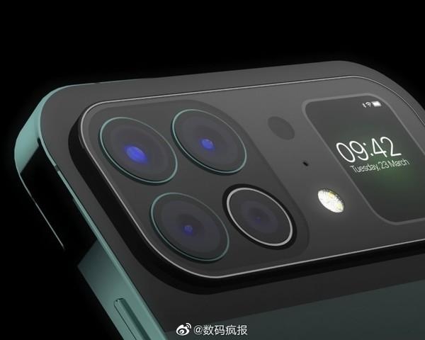 iPhone без чёлки и с дополнительным экраном. Опубликованы интересные рендеры