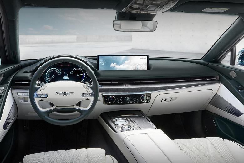 Зарядка за считаные минуты, запас хода 500 км и разгон до 100 км/ч за 4,9 с. Представлен первый электромобиль Genesis