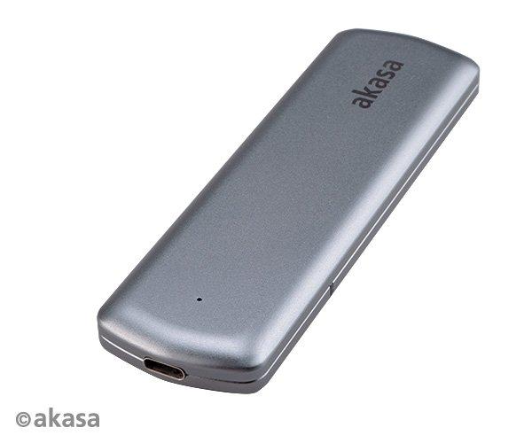 Корпус Akasa AK-ENU3M2-05 позволяет превратить SSD типоразмера M.2 во внешний накопитель