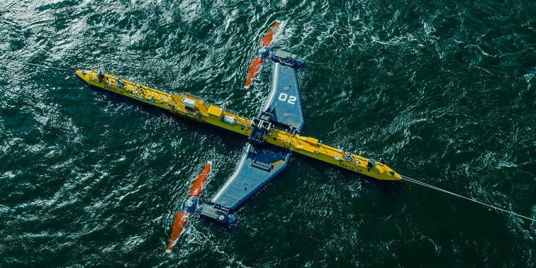 В водах Шотландии запущена самая мощная в мире приливная турбина