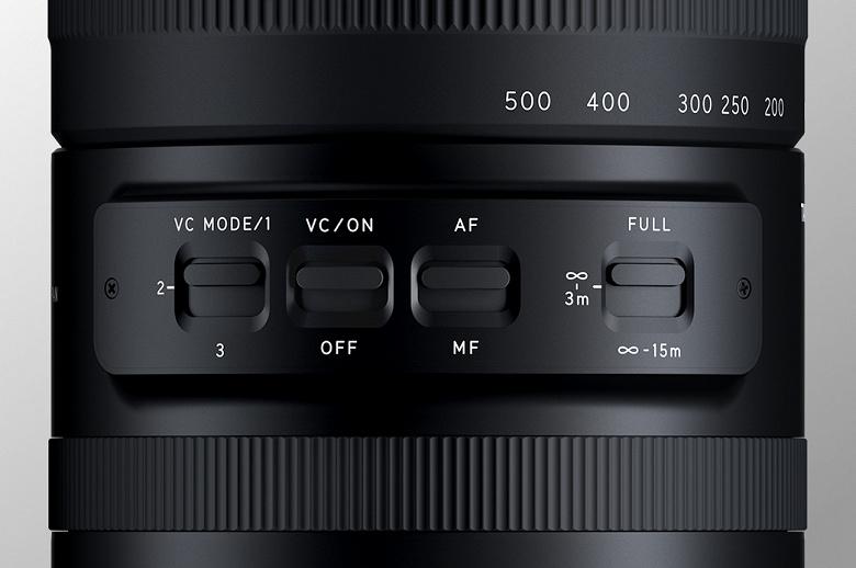 Появились изображения и основные спецификации объектива Tamron 150-500mm f/5-6.7 Di III VC VXD
