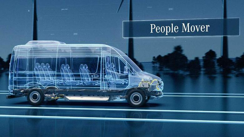 Электрический Mercedes-Benz eSprinter следующего поколения будет производиться сразу на трёх заводах