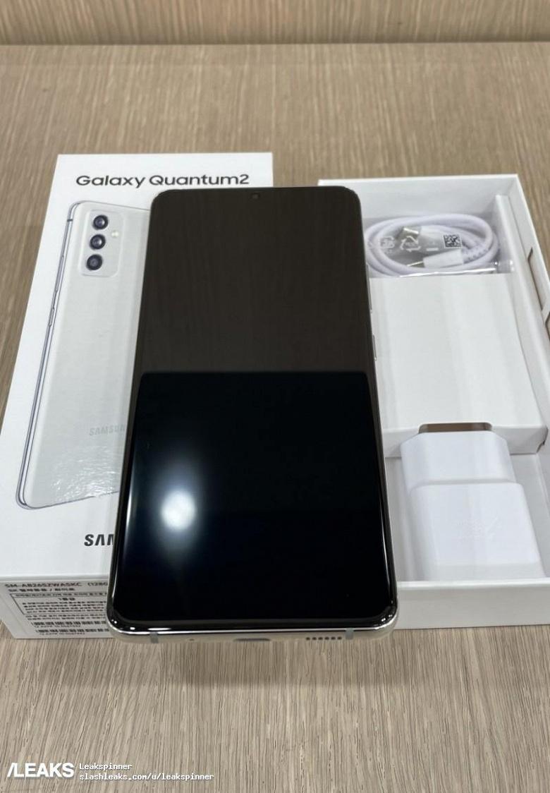 Смартфон Samsung Galaxy Quantum2 с квантовым генератором случайных чисел во всей красе