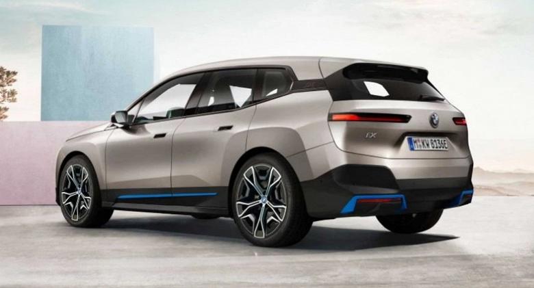 BMW iX M60 станет самым мощным электромобилем производителя