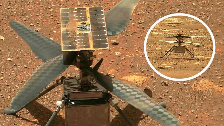 NASA запустило вертолёт Ingenuity в первый полёт на Марсе: как посмотреть трансляцию