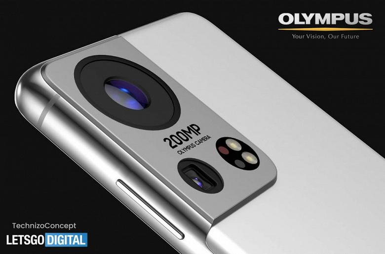 Samsung Galaxy S22 с 200-мегапиксельной камерой Olympus на новых рендерах