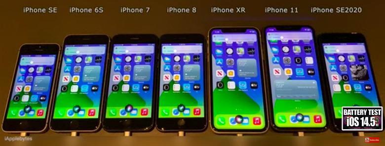 Стоит ли обновляться: проверка автономности «старых» моделей iPhone с новейшей iOS 14.5