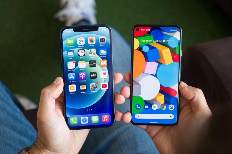В этом iPhone опережает Android-смартфоны. Средний объём флеш-памяти в iOS-устройствах почти в полтора раза больше