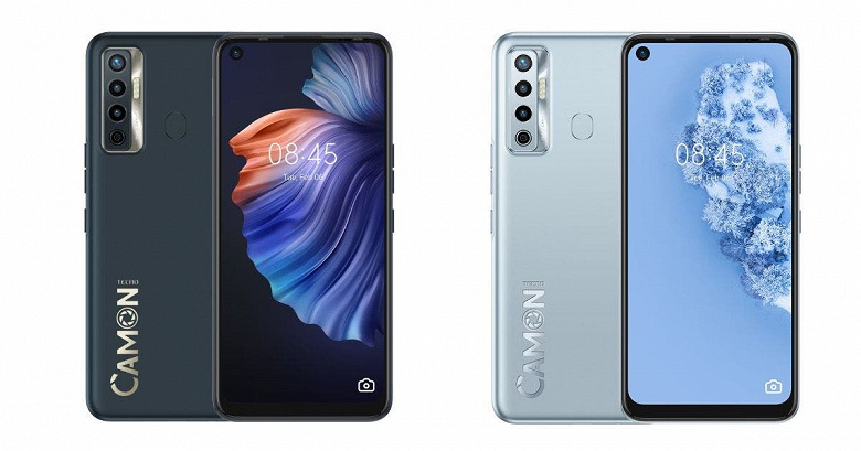 Android 11, HiOS, 90 Гц, Helio G85 и 5000 мА•ч. Представлен смартфон Tecno Camon 17