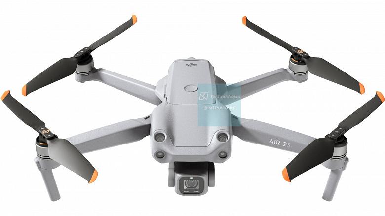 DJI Air 2S полностью рассекречен. Качественные изображения и характеристики дрона