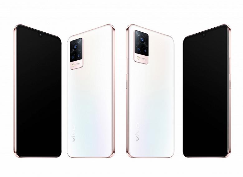Возможно, лучшая селфи-камера на рынке. Представлены смартфоны Vivo V21, Vivo V21 5G и Vivo V21e