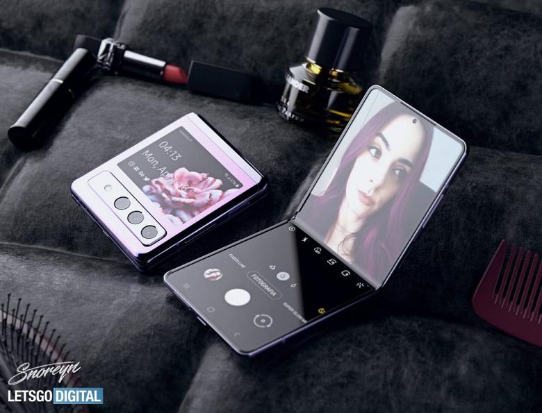 Со Snapdragon 888, One UI 3.5, камерой, как у Galaxy S21, и более крупным наружным дисплеем. «Раскладушка» Samsung Galaxy Z Flip3 позирует на качественных рендерах