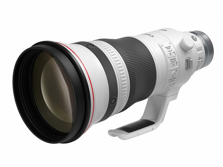 Представлены объективы Canon RF 400mm F2.8 L IS USM и RF 600mm F4 L IS USM