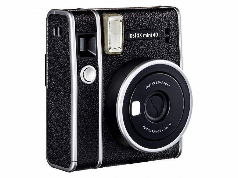 Представлена камера Fujifilm Instax Mini 40 и картриджи Contact Sheet