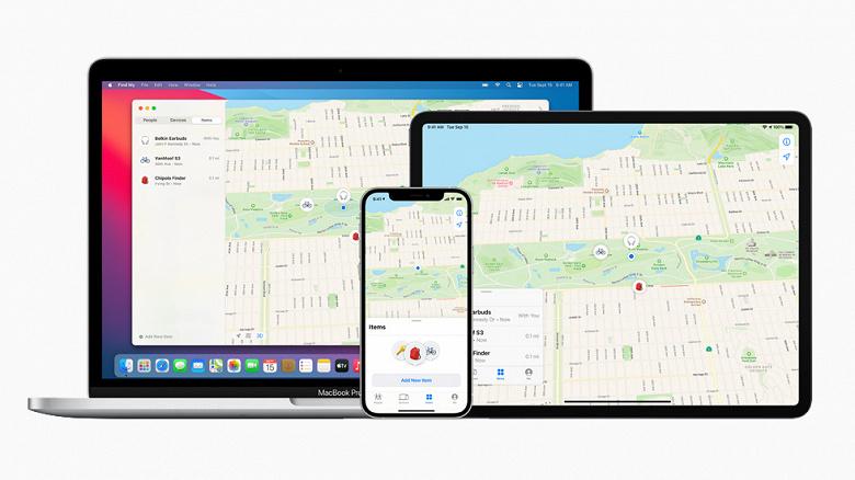Apple разрешила iPhone, iPad и Mac искать «чужие» гаджеты и аксессуары, включая электровелосипеды