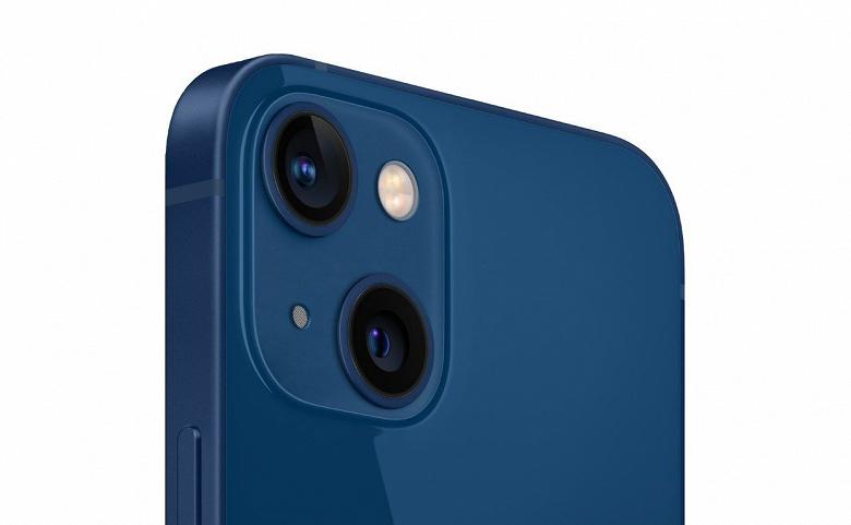 Синий iPhone 13 и уменьшенная чёлка. Новые качественные изображения