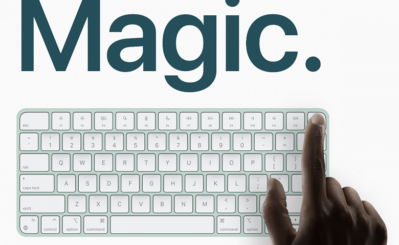 Apple дискриминирует собственные ПК Mac. Новая клавиатура MagicKeyboard будет работать полноценно только с ПК на SoC M1