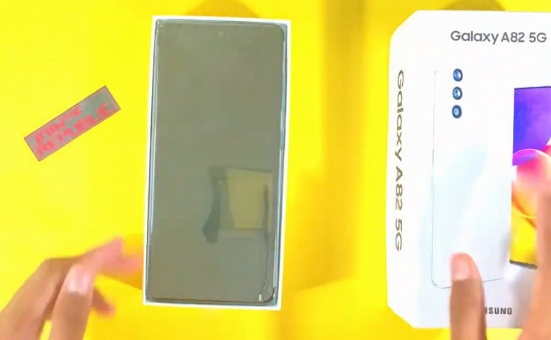 Первая распаковка Samsung Galaxy A82