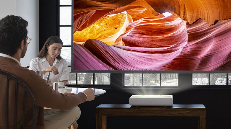 Лазерный 4К-проектор Samsung The Premiere появился в России