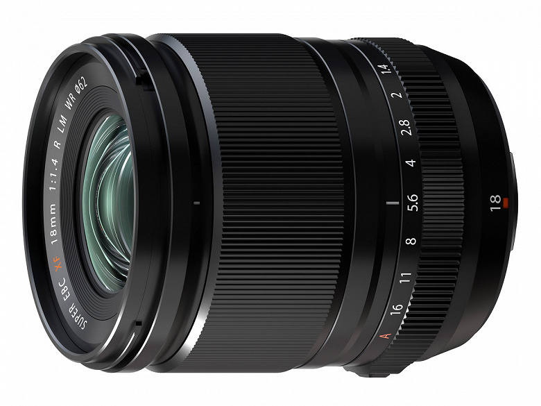 Представлен объектив Fujifilm Fujinon XF18mmF1.4 R LM WR