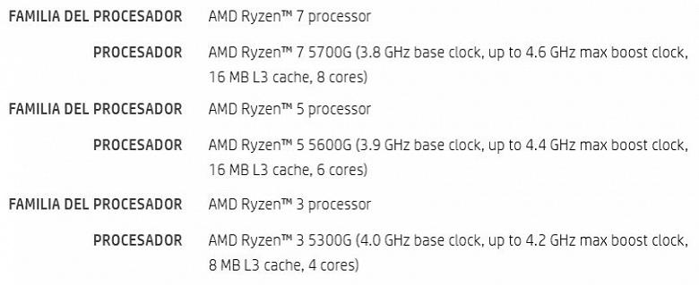 Настольные процессоры AMD, у которых не будет аналогов из стана Intel. Стали известных характеристики APU Ryzen 5000G
