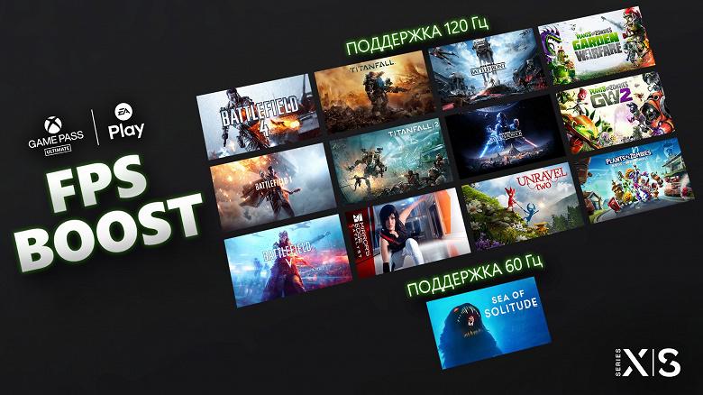 Поддержка 120 Гц пришла на дюжину заслуженных хитов EA для Xbox