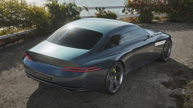 X Concept EV — представление Genesis о роскошном электромобиле
