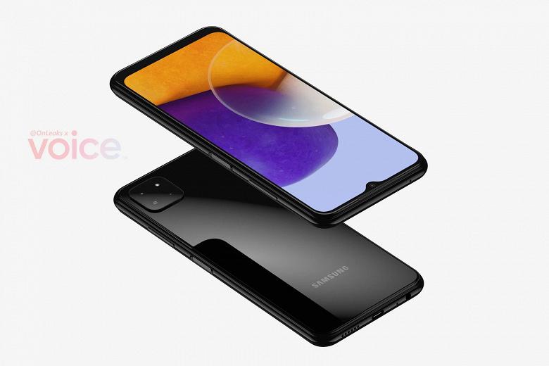 Так выглядит самый дешевый смартфон Samsung с поддержкой 5G. Galaxy A22 5G показали на качественных рендерах и на видео
