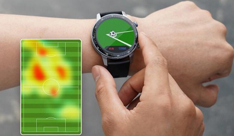 90-долларовые умные часы с GPS, экраном AMOLED, отличной автономностью и функцией для фанатов футбола. Представлены WatchGT