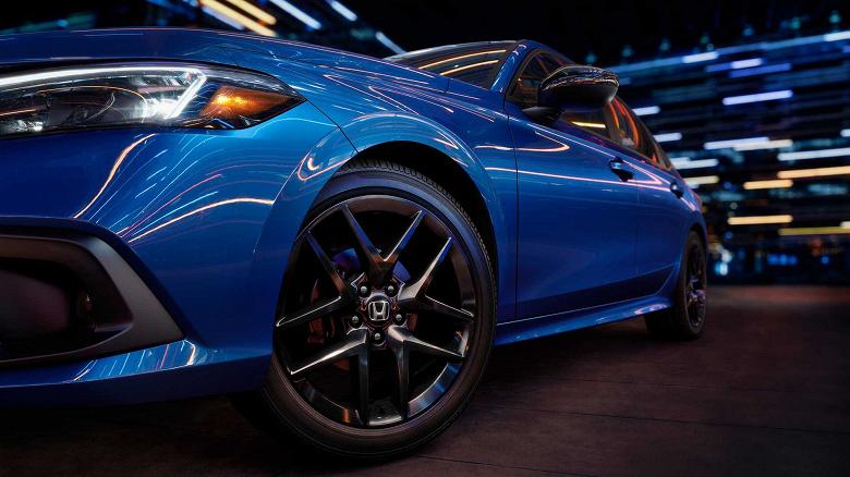 Представлен новый седан Honda Civic