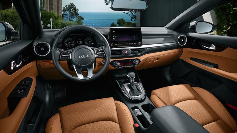 Представлен новый Kia Cerato с двумя 10-дюймовыми экранами